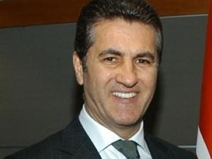 Mustafa Sarıgül DİSK Genel Merkezi'nde