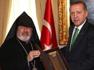 Ermeni cemaatinden Başbakan Erdoğan'a ziyaret