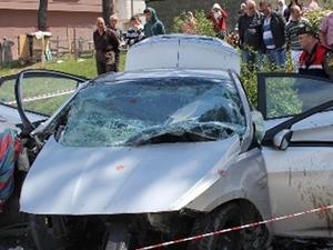 Giresun'da trafik kazası:3 ölü, 1 yaralı