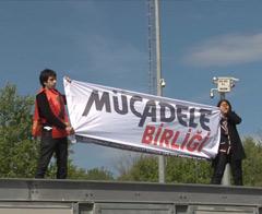 2 eylemci Taksim'e çıkmayı başardı ama...