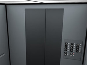 Ayak hareketiyle çağrılan asansör!