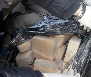 Ağrı'da 61 kilogram eroin ele geçirildi