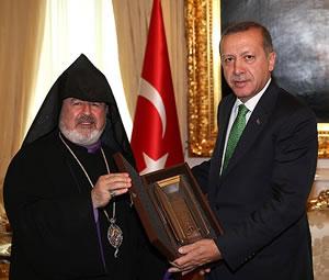 Başbakan Erdoğan Ermeni Patrik Vekili Ateşyan'ı kabul etti
