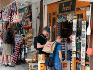 Marmaris'e turist akını