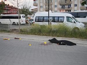 Sokak ortasında intihar!