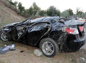 Giresun Tirebolu'da trafik kazası: 3 ölü 1 yaralı