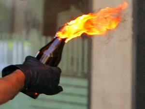 Tunceli'de karakola molotoflu saldırı!