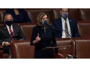 """ABD Temsilciler Meclisi Başkanı Pelosi: """"Bu isyancılar yurtsever değildi, yerli teröristlerdi ve adalet hüküm sürmelidir"""""""