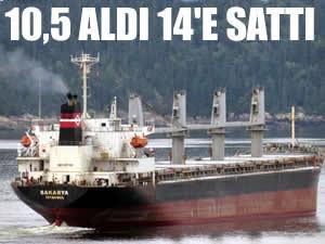 Burak Erdoğan Sakarya isimli gemisini 14 milyon dolara sattı!