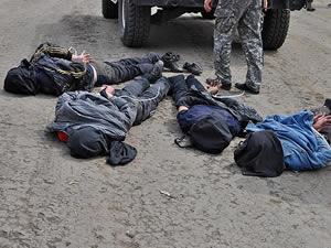 Ukrayna helikopteri düşüren 4 kişii yakalandı