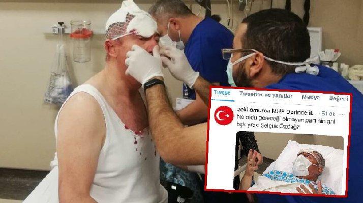 MHP'li başkandan skandal 'Özdağ' paylaşımı