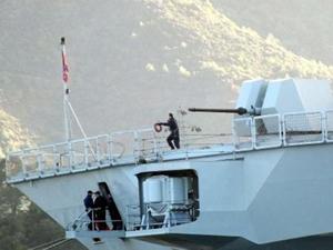 Marmaris Aksaz'da askeri gemide patlama: 1 işçi öldü