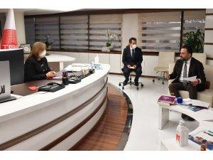 Ankara Kent Konseyi'nden Türkiye Belediyeler Birliği'ne farkındalık ziyareti