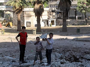Halep susuz kaldı