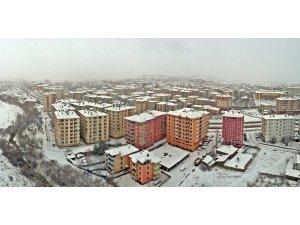 Sungurlu yeni hafta'ya kar ile uyandı