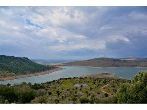 Güzelhisar Barajı'nda su seviyesi yükseliyor