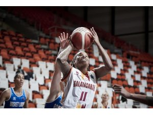 Kadınlar Euroleague: Galatasaray: 89 - Basket Landes: 63
