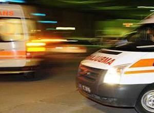 Gaziantep'te bir otomobil devrildi!