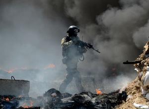 Rusya yanlıları polis merkezini işgal etti!