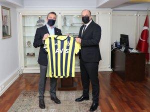 Ali Koç, İstanbul Emniyet Müdürü Zafer Aktaş'ı ziyaret etti