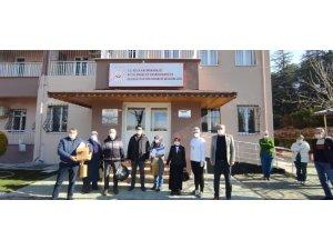 Kula Rehabilitasyon Merkezi'nde aşılama çalışması başladı