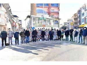 Başkan Çınar,  kar küreme çalışmalarını inceledi