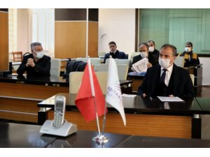 Adıyaman Belediyesi'nde değerlendirme toplantısı