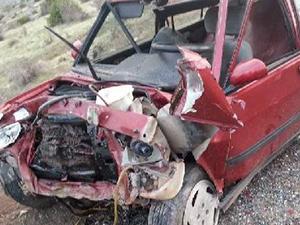 Erzurum'da trafik kazası oldu