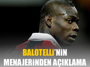 Balotelli'nin menajerinden Galatasaray açıklaması