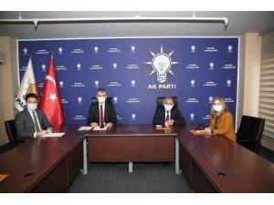 Başkan Büyükkılıç, AK Parti Genişletilmiş İl Başkanları Toplantısı'na katıldı