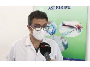 Uzman doktor eczacıların aşılanma sürecini anlattı