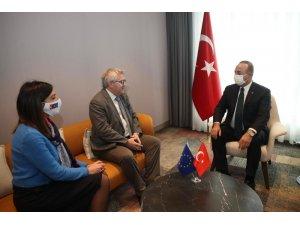 Bakan Çavuşoğlu, AB Dış İlişkiler Yüksek Temsilcisi Borell ile görüştü