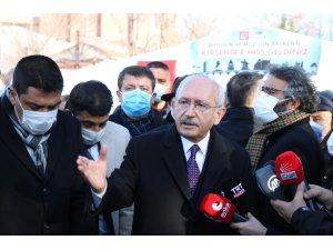 """Kılıçdaroğlu'ndan 'Joe Biden' açıklaması: """"Önce bir tabloyu görmemiz, açıklamaları görmemiz lazım"""""""
