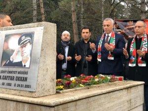 Şehit Ali Gaffar Okkan, vefatının 20'nci yılında mezarı başında anılacak