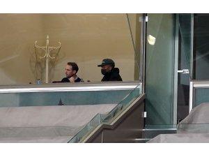 Junior Fernandes, Rizespor maçını locada izliyor