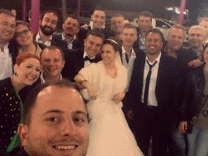 Düğüne selfie damga vurdu