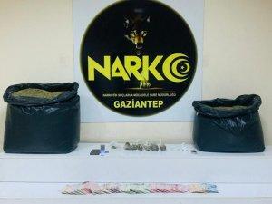 Gaziantep'te 61,5 kilo uyuşturucu ele geçirildi