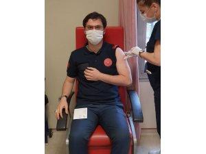 Bolu'da 7 bin 461 kişi korona virüs aşısı oldu
