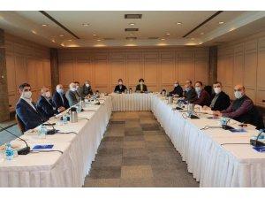 Başkan Yüksel, CHP İl Başkanlığı'nın toplantısına katıldı