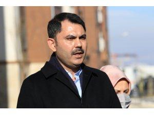 """Bakan Kurum: """"Elazığ ve Malatya'da dönüşüm süreci tüm Türkiye ve dünyaya örnek olacak"""""""