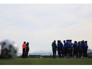 Trabzonspor, Süper Kupa maçının hazırlıklarına başladı