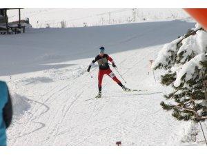Ilgaz Dağı'nda Kayakla Oryantiring Yarışması sona erdi