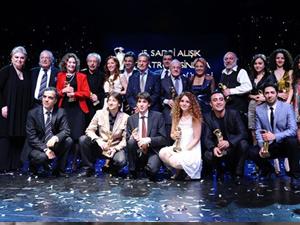 Sadri Alışık Tiyatro ve Sinema Oyuncu ödülleri dağıtıldı