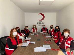 Kütahya Kızılay Kadın Kolları ilk toplantısını yaptı