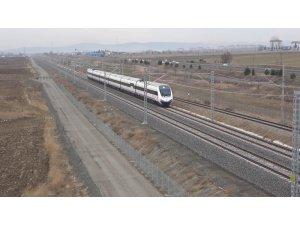 Ankara-Sivas arasını 2 saate düşürecek YHT projesi test sürüşü başladı