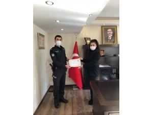 Korona virüs vakaları sıfırlanan ilçede kamu çalışanlarına başarı belgesi