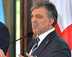 Cumhurbaşkanı Gül'den Ukrayna açıklaması