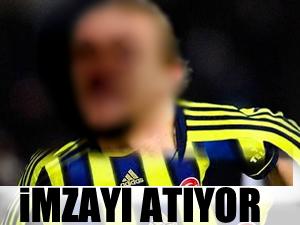 Fenerbahçe'ye imzayı atıyor
