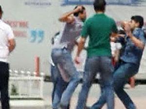 Taksim'de silahlı kavga!