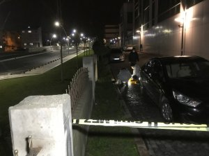 Hastane bahçesinde amca-yeğene silahlı saldırı